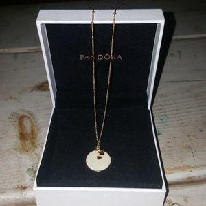 NWOT Pandora Pendant and Chain